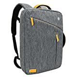 Best Asus 17 Laptop Backpacks - Laptop Backpack, Evecase Water Resistant Convertible Canvas Briefcase Review