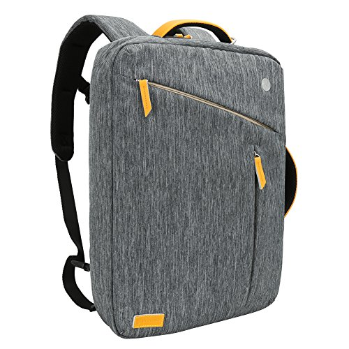 Laptop Backpack, Evecase Water Resistant Convertible Canv...