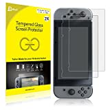 Nintendo Switch Screen Protector, JETech 2-Pack Tempered Glass Screen Protectors for Nintendo Switch 2017