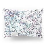 Society6 Louisville Map Pillow Sham Standard (20'' x 26'') Set of 2