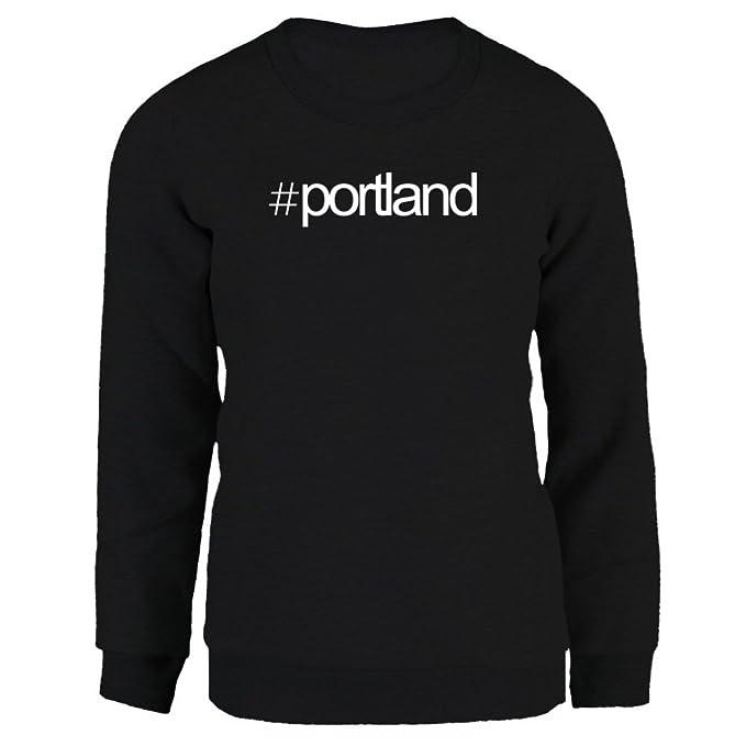 Idakoos Hashtag Portland - Ciudades Usa - Sudadera Mujer: Amazon.es: Ropa y accesorios