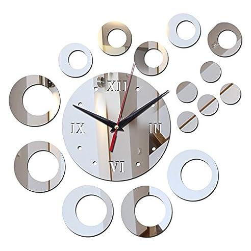 Schön Neuen Verkauf Diy Wall Sticker Uhr Acryl Spiegel Aufkleber Möbel Dekoration  Noch Leben Für Wohnzimmer Kostenloser