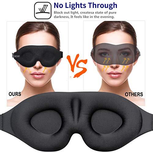 ZGGCD 3D Contoured Sleeping Blindfold