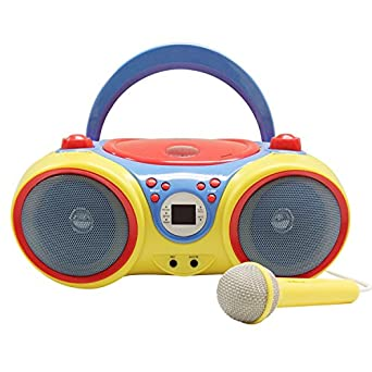 f21993584201 Image Unavailable. Image not available for. Color  Hamilton Buhl Kids Audio  CD Player Karaoke Machine with Microphone