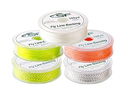 SF Braided Fly Fishing Trout Line Backing Line 20 LB 30 LB 100m/109yds 300m/328yds from Sunshine