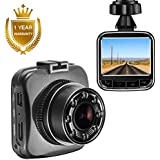 "Senwow Mini Dash Cam 2"" LCD 1080P Full HD Car Dashboard Camera Recorder Sony Sensor 170° Wide Angle On Dash Video Driving DVR G-Sensor, Loop Recording, Night Vision Parking Monitor Motion Detection"