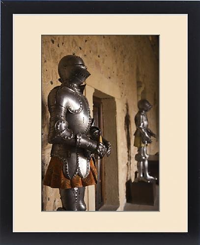 Framed Print of Spain, Castilla y Leon Region, Segovia Province, Segovia, The Alcazar, suits of by Fine Art Storehouse