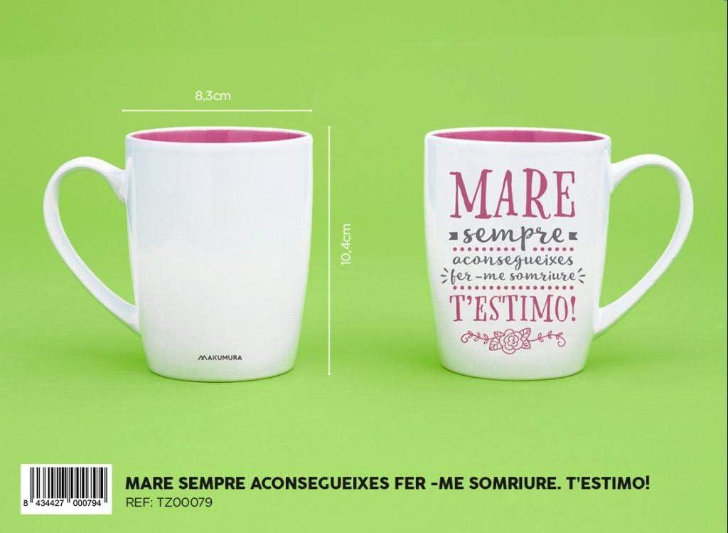 MAKUMURA Tazas de Desayuno Originales y Divertidas-Taza con ...