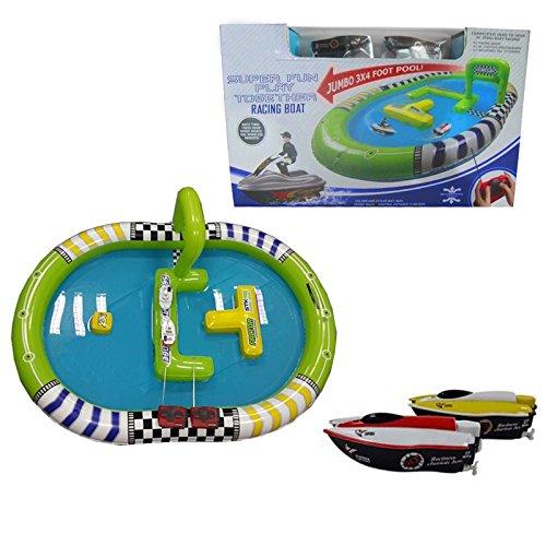 Racing Fun Set (Super Fun Play Together Rc Racing Boat)