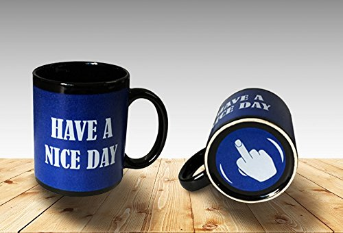 Funny Coffee Middle Finger Ceramic product image