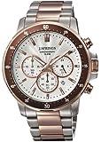 J. Springs - BFC003 - Montre Homme - Quartz Chronographe - Aiguilles lumineuses/Chronomètre - Bracelet Acier Inoxydable Multicolore