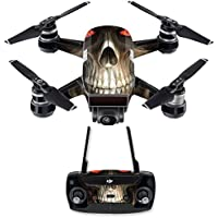 Skin for DJI Spark Mini Drone Combo - Evil Reaper| MightySkins Protective, Durable, and Unique Vinyl Decal wrap cover | Easy To Apply, Remove, and Change Styles | Made in the USA
