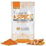 v tea Turmeric Spice Anti-Inflammatory Tea: Support Joint Health. 100% Organic - 14 Pyramid Sachets.