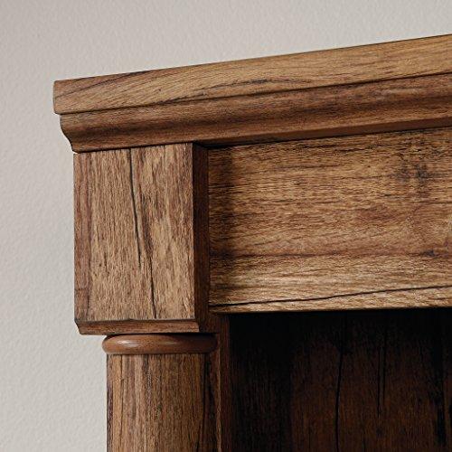 "Sauder 420609 Palladia Library with Doors, L: 29.37"" x W: 13.90"" x H: 71.85"", Vintage Oak finish"