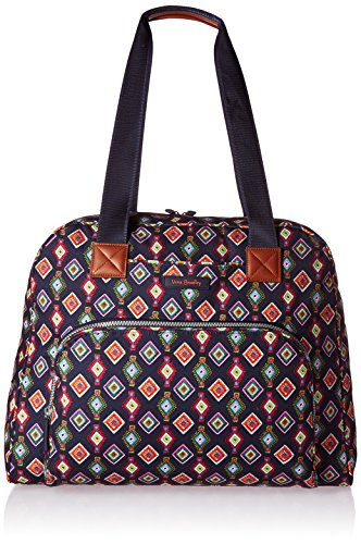 Vera Bradley Women's Go Anywhere Carry-on, Mini Medallions