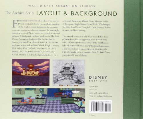 Layout & Background (Walt Disney Animation Archives) by Disney Editions (Image #1)
