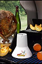 Cook\'s Choice Beer Can/Marinade Sittin\' Chicken and Turkey Combo Steamers