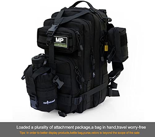 Outdoor Sports Tactical Backpack Camping Mens Military Bag 1000D Nylon for Cycling Hiking Climbing 30L 45L