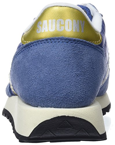 Bleu Saucony Chaussures Navy Gold Femme Doré Original Vintage Gymnastique 30 de Marine Jazz rwvnztHUqr