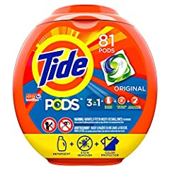 Tide PODS is a 3-in-1 laundry solution, that consists of a laundry detergent, stain remover and color protector all in one. And the innovative, multi-chamber design separates key ingredients until they hit the wash for maximum cleaning power....