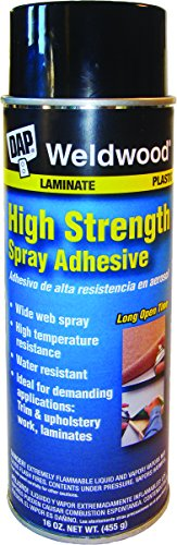 Dap 121 16-Ounce High Strength Spray Adhesive (Multi Floor Weldwood Purpose)