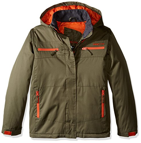 youth insulated jacket - 1