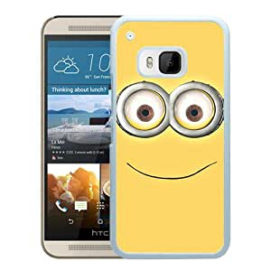 Despicable Me Smile 17 White High Quality Custom HTC ONE M9 Protective Phone Case