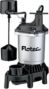 FPZS75V 3/4 HP Submersible Thermoplastic Sump Pump