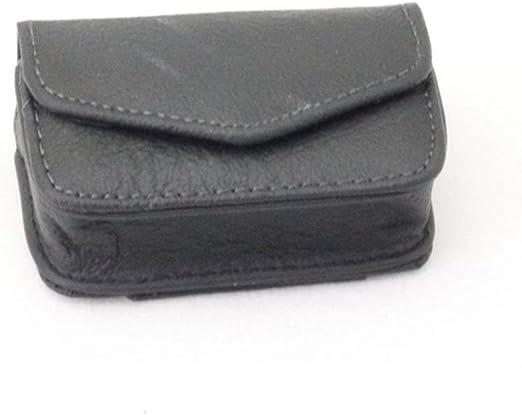 HUOYAN 45x85x25mm Caja De Anteojos Plegable De Cuero Real Desgaste Cinturón Carpeta Gafas De Sol Estuche Protector Contenedor Lentes Bolsa De Almacenamiento (Color : 4): Amazon.es: Jardín