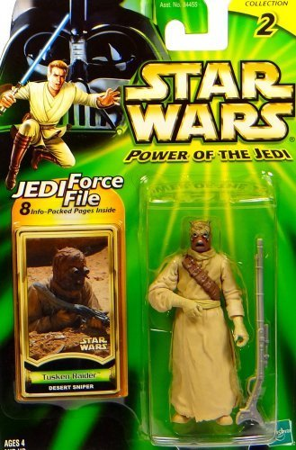 Star Wars Power of the Jedi Tusken Raider Action Figure Hasbro (Raider Tusken Star)