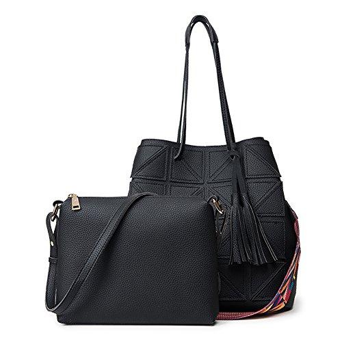 Black And Brown Tote Bag - 8