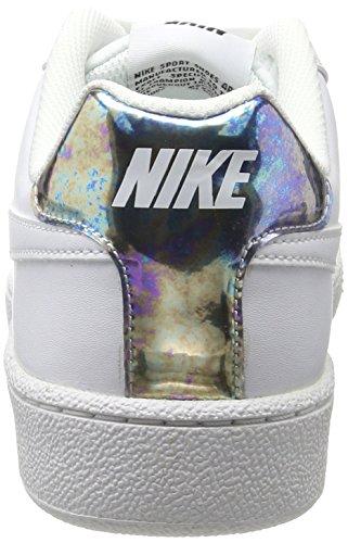 Blanco Para white 109 Tenis Court Metallic Nike Royale De Wmns Silver Mujer Zapatillas npx6OBq