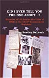 Did I Tell You the One About ... ?, Betty Bentley DeLoach, 1412036070