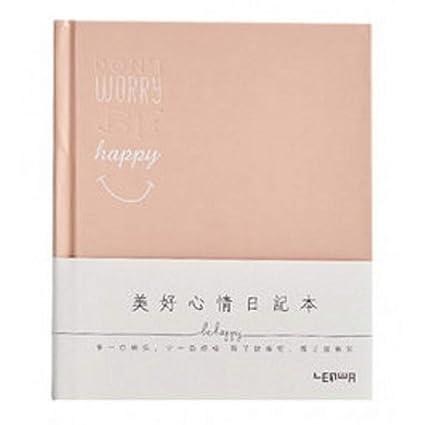 YWHY Cuaderno Manual Creativo Planificador Lindo Mesa En Blanco ...