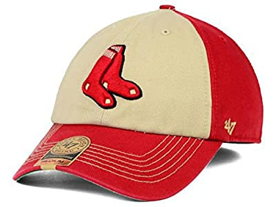 Boston Red Sox Fitted Size Large Red Hat Cap - Best Fits 7 3/8 or 7 1/2