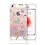 Hovisi TPU Art Design Crystal Case Back Cover for