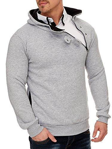 Homme shirt Tazzio Gris Capuche À Sweat aHpqpIwTx