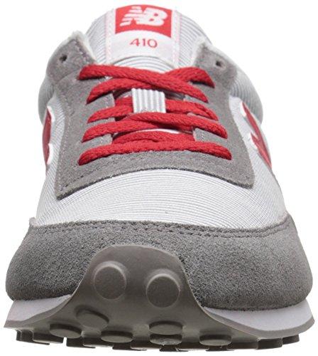 New Balance Femmes Wl410 Collection Chaussure De Course Gris / Rouge