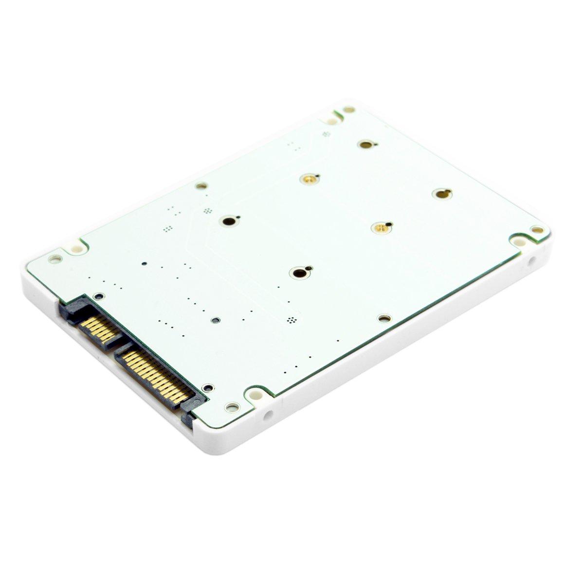 ULIAN Mini pcie transferencia mSATA de PCI-E SATA 2.5 pulgadas SSD ...