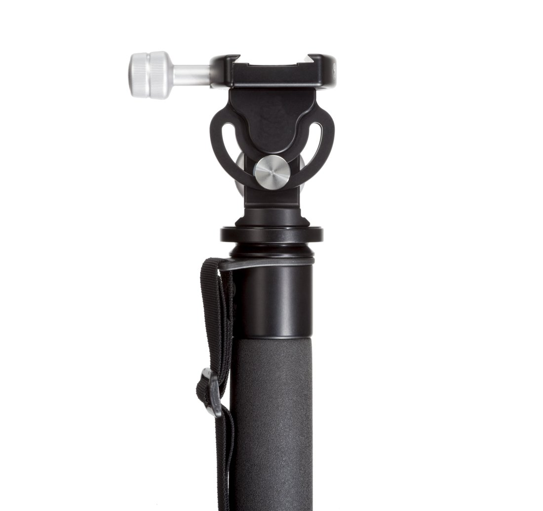 CameraPlus - Camera Tripod/ Monopod MH-01 Pro head- Max Load 34KG to to use with the largest telephoto lenses