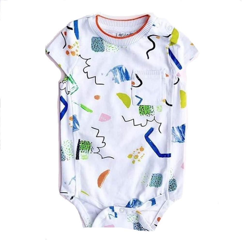 art /& eden Unisex Baby 100/% Organic Cotton Bodysuit