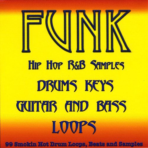 - Funk Pop Drum Loops, Guitar, Bass and Keyboard Samples