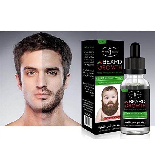 100% pure natural organic oil male beard hair wax hair loss products from washing hair so used trim your beard growth 40ML