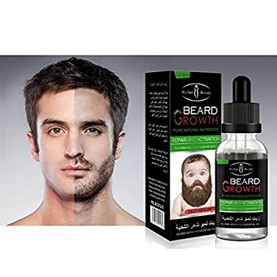 100% pure natural organic oil male beard hair wax hair loss products from washing hair so used trim your beard growth 40ML