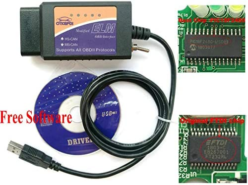 Modified Diagnostic Compatible ELMconfig Software product image