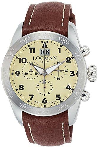 LOCMAN watch ISOLA D'ELBA 0460A04-00AVBKPN Men's