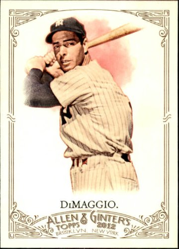 2012 Topps Allen & Ginter Baseball Card #181 Joe DiMaggio ()