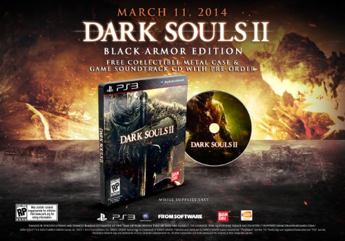 Dark Souls II (Black Armor Edition) - PlayStation 3 Black Armor Edition