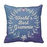 Worlds Best Grammie Hand Drawn Wreath R9191b2f0ecfb45eea0a5bdc6ea2939db I5fqz 8byvr Pillow Case 18X18