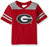 NCAA Georgia Bulldogs Toddler Boys Football Shirt, Red, 2